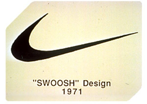 Carolyn Davidson designed the Nike Swoosh Logo in 1971 for $35, while she was a graphic design student