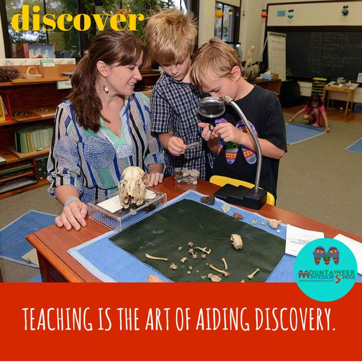 Teaching Is The Art Of Aiding Discovery. Teachers