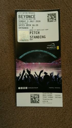 Beyonce #tickets 3rd july london wembley standing #general #admission (1-6 #ticket, View more on the LINK: http://www.zeppy.io/product/gb/2/252422709381/