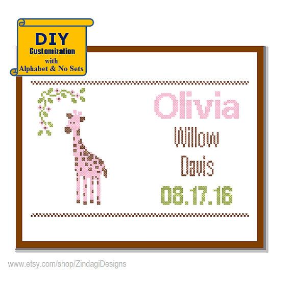 Instant Download DIY customizable Pattern by ZindagiDesigns
