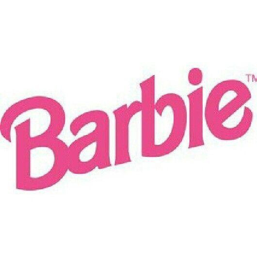 90s Barbie logo