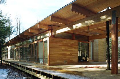 La résidence Les abouts. Architecte: PIerre Thibault. Photo: Alain Laforest