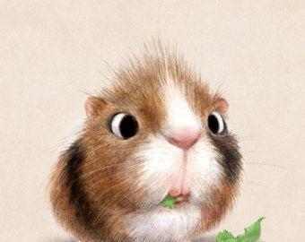 Illustrations and Animal Art by Sydney Hanson von SydneyHansonArt – Bilder