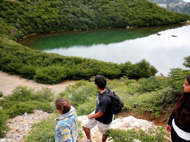 Laguna del Huemul  Valle Las Trancas en Pinto, Biobío
