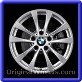 BMW 320I 2014 Wheels & Rims Hollander #71536 #BMW #320I #BMW320I #2014 #Wheels #Rims #Stock #Factory #Original #OEM #OE #Steel #Alloy  #Used