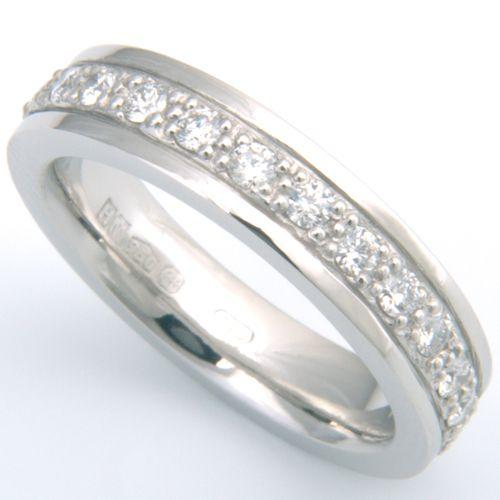 66 best Diamond Wedding Rings images on Pinterest Bespoke Custom