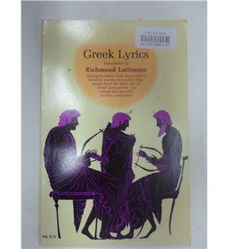 Greek Lyrics | Oxfam GB | Oxfam's Online Shop