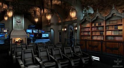 ¡Wow! Una sala de cine en casa para los fans de Batman O_o (II)