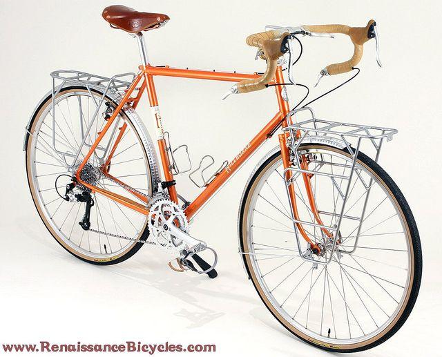 Sam Hillborne touring bike by Renaissance Bicycles, via Flickr