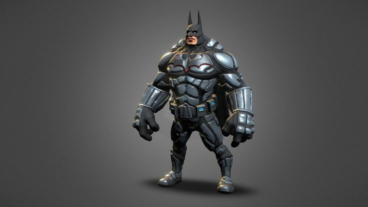 This is my interpretation of the batman. Done in zbrush, then zremesh and uvs also in zbrush. Then 3dMax for little ajustments. Textures baked in xNormal.
