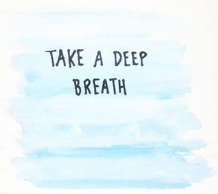 Take a deep breath.  Silence World  Pinterest