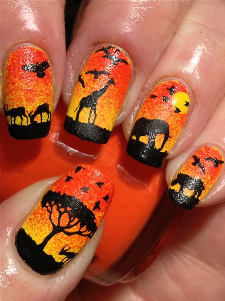 16 Amazing Designed Nails From Your Dreams - Best 25+ Lion King Nails Ideas On Pinterest Disney Nail Designs