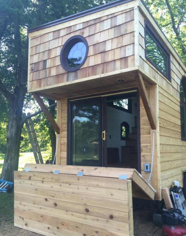 Old World Vermont: Perch & Nest Tiny Home
