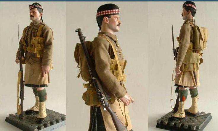 Pvt, Seaforth Highlanders, 1914