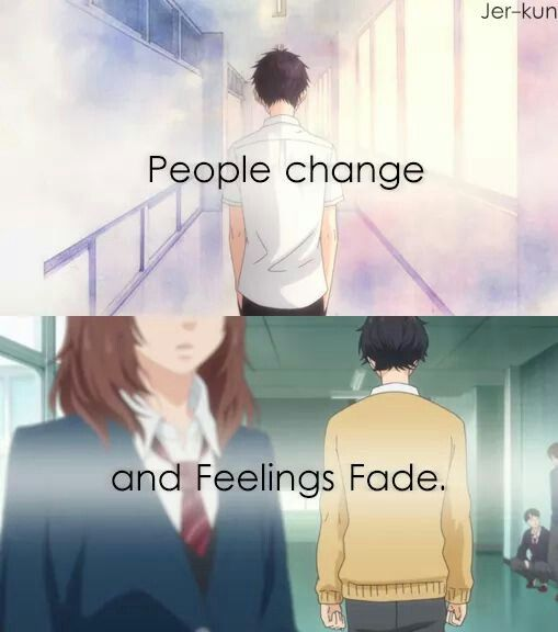 Lets Ride Quotes: (Ao Haru Ride) Sad But True, This Has Happened To Me