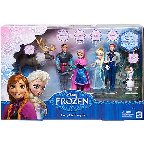 Disney Frozen Small Doll Complete Story Set: for her bday for sure!