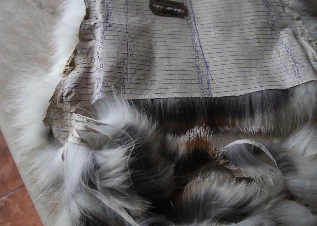 Жилет вязаный с нашивкой меха лисы (полос) .Часть 1. - Ярмарка Мастеров - ручная работа, handmade