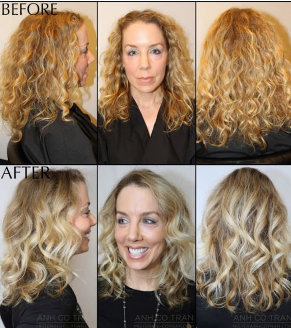Pin By Grace Rector On Haircuts And Color Before And After Hair Makeover Haircut And Color Virtual Hair Makeover
