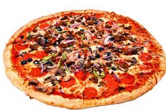 Pepperoni Pizza at Sagra goo.gl/N29CZ3