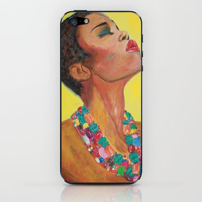 Sun Girl iPhone & iPod Skin by otilia elena - $15.00