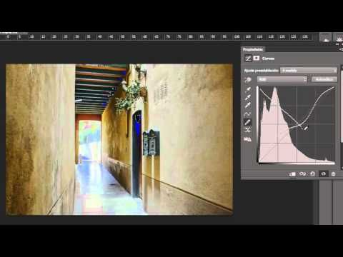 "Curvas en Photoshop CS6: Trucos y la herramienta ""Ajuste de destino"" - YouTube"
