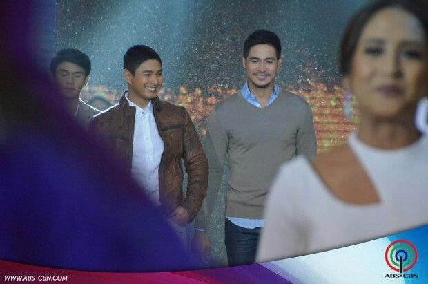 This is the handsome Coco Martin and the handsome Piolo Pascual walking on the ASAP stage during the Parade of Star Magic Talents during Star Magic Day and Star Magic 23rd Anniversary on ASAP at ABS-CBN Studio 10 last July 26, 2015. Indeed, they're another of my favourite Kapamilyas and they're amazing Star Magic talents. #CocoMartin #IdolongMasa #PioloPascual #StarMagic23 #starmagic23rdanniversary #ASAP20