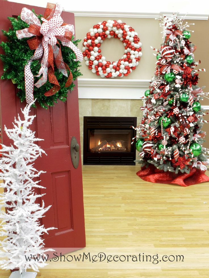 show me ideas for christmas door decor with best christmas decorating blogs - Show Me Christmas Decorations
