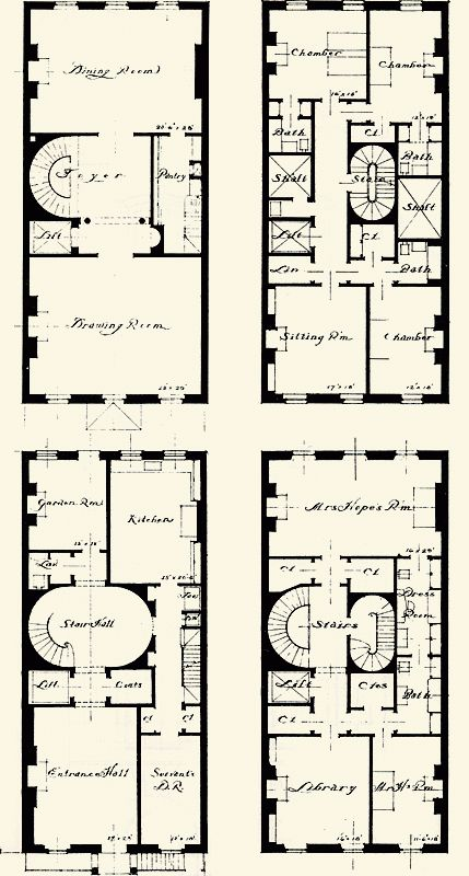488 Best Images About Floor Plans On Pinterest House