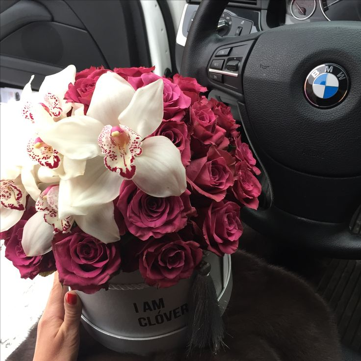 Бмв и розы фото