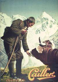 1931 Cailler Swiss chocolate - Viktor Rutz