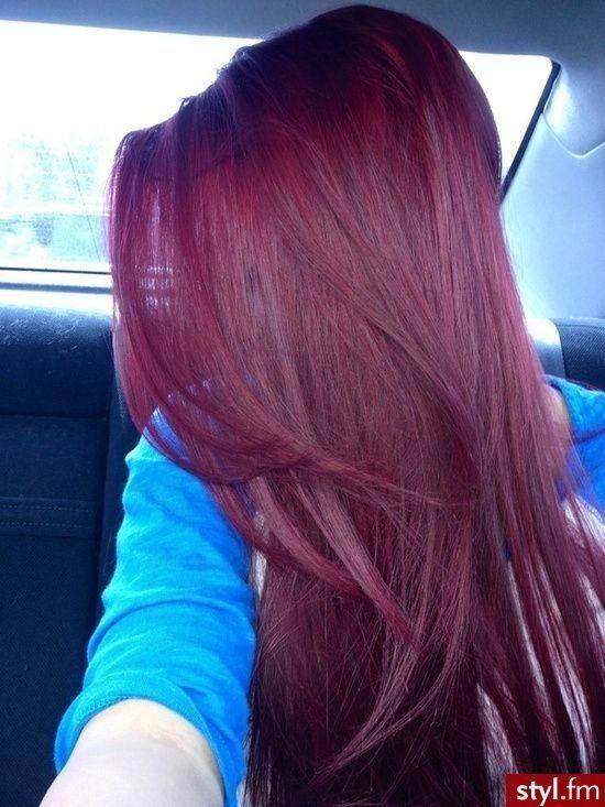 ... Hair, Hair Colors, Dark Hair, Red Hair, Hair Style, Burgundy Hair