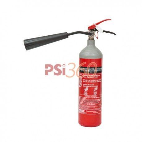 Stingatorul portabil cu CO2 , tip G2 , este recomandat pentru stingerea incendiilor de natura electrica.