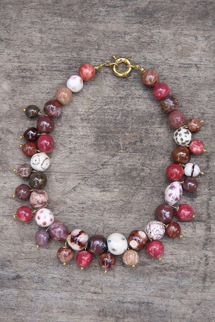 handmade ceramic jewellery