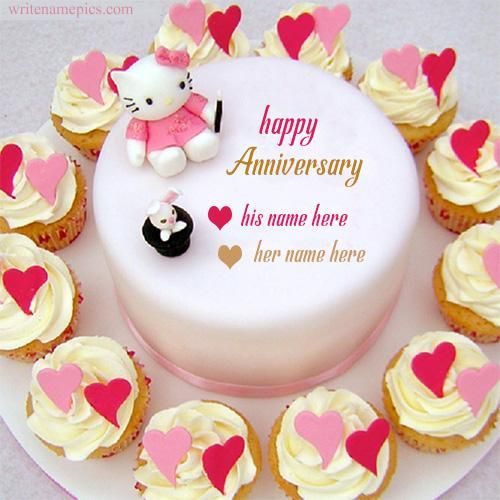 Anniversary Cake Image Download The Cake Boutique