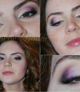 свадебный макияж, макияж в фиолетовых тонах, макияж для свадьбы, макияж для вечера. макияж для праздника, вечерний макияж