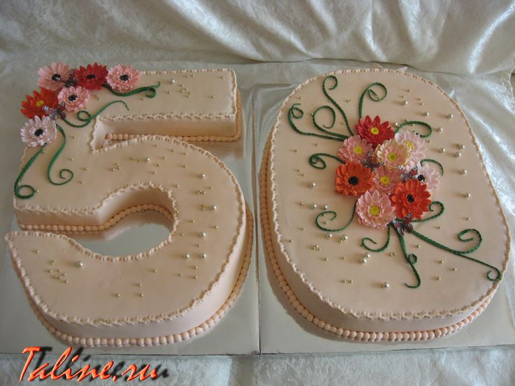 50 лет торт фото