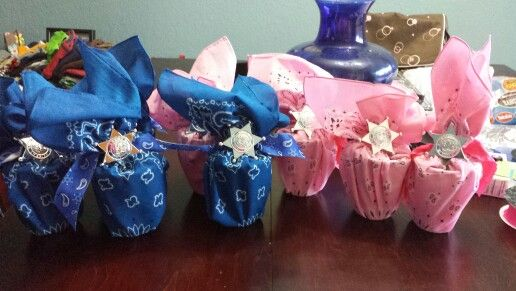 Cowboy/cowgirl party favors