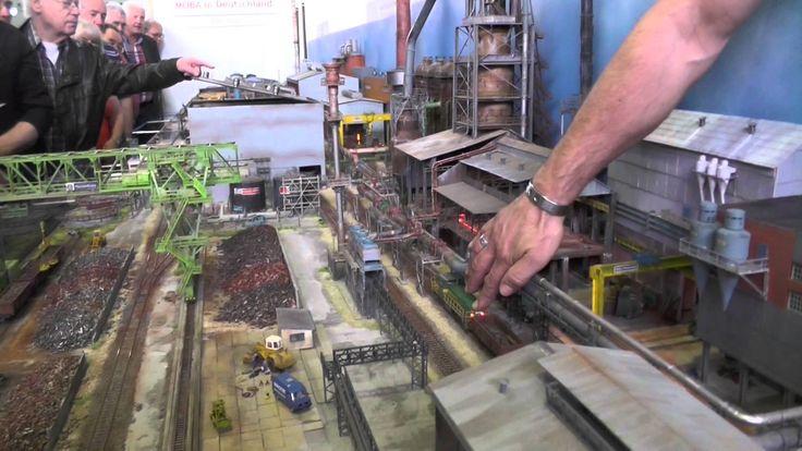 Modellbahn H0 Stahlwerk von Gerd Otto