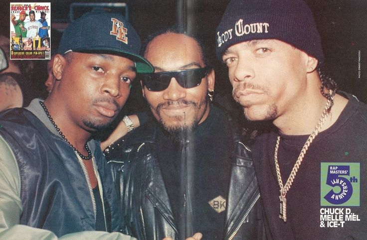 """Chuck D, Melle Mel and Ice T """"Old School"""""""