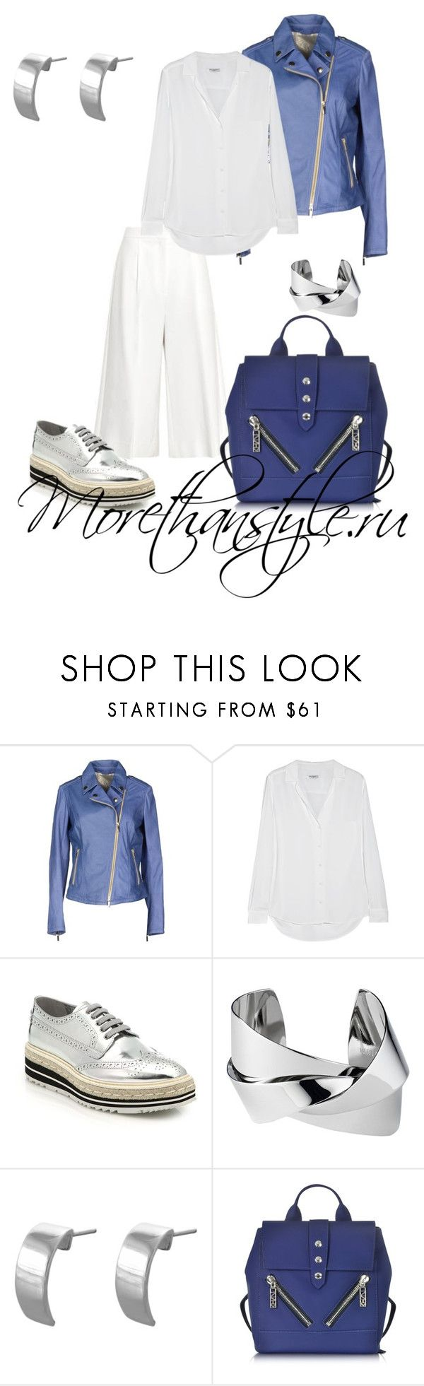 """""""Casual outfit"""" by smileggal on Polyvore featuring мода, Gimo's, Equipment, Prada, Whistles, Edge Only и Kenzo"""