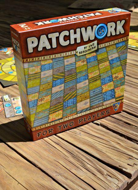 Patchwork: two player tetris fun!