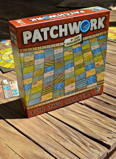 Patchwork board game.