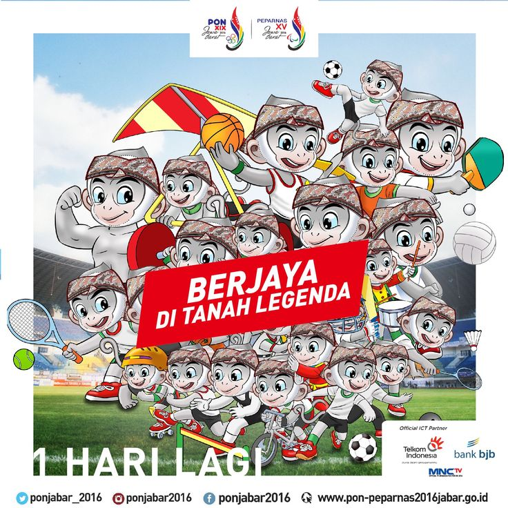 SATU HARI LAGI!  Pembukaan event olahraga 4 tahunan #PON2016 ini akan dilaksanakan di Stadion GBLA!