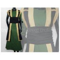 Priestess Dress Green. Item can be found at http://www.larpcanada.com