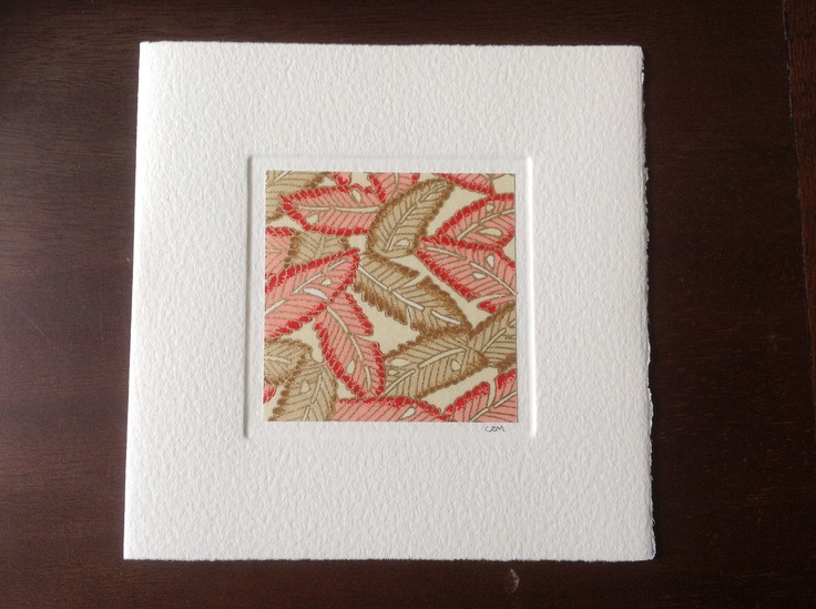 MISU cards design   gold leaf