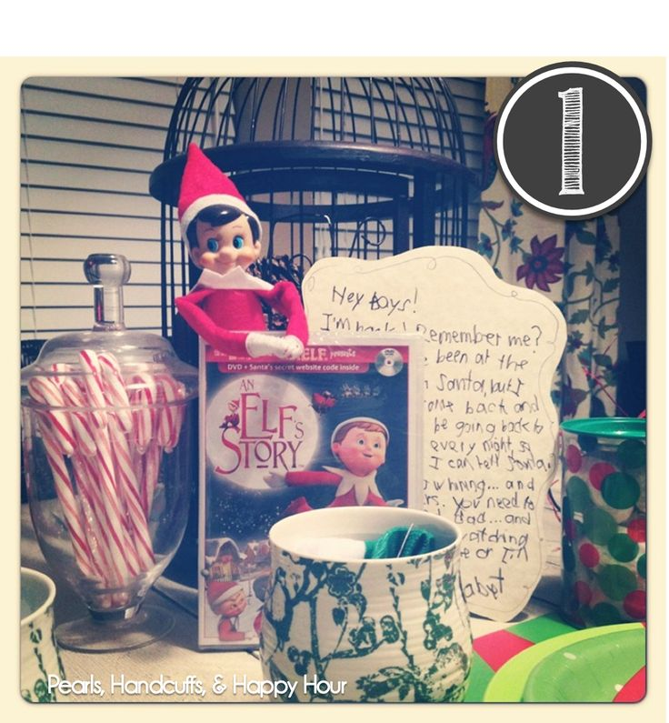 Pearls, Handcuffs, and Happy Hour: Elf on the Shelf Ideas - Christmas Week!