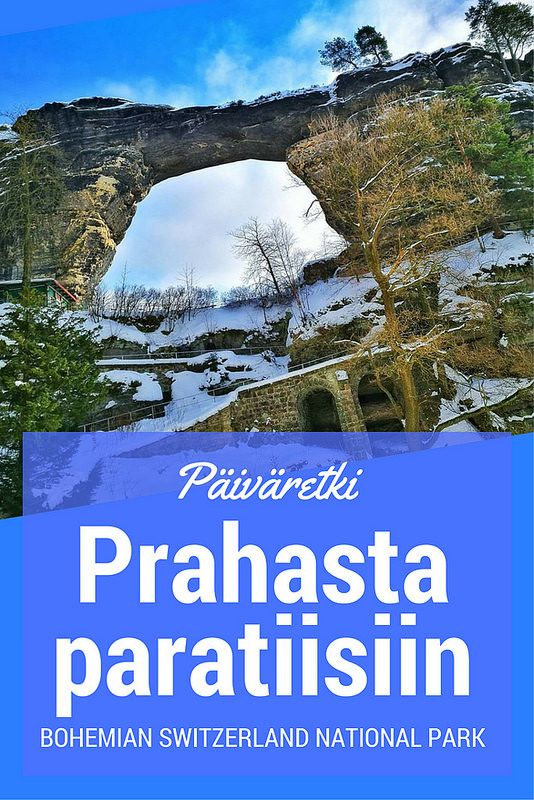 Päiväretki Prahasta paratiisiin: Bohemian Switzerland National Park | Live now – dream later -matkablogi