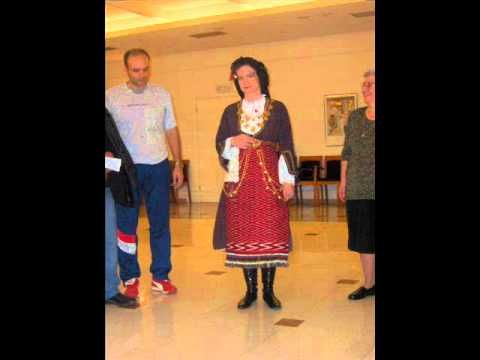 Ελένη Κάθονταν - Eleni Kathontan. A traditional song and dance from Melenikitsi, Serres. This dance is usually is performed by women who sing the song while they dance.