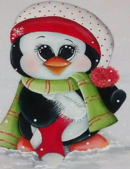 Pingüino con bota