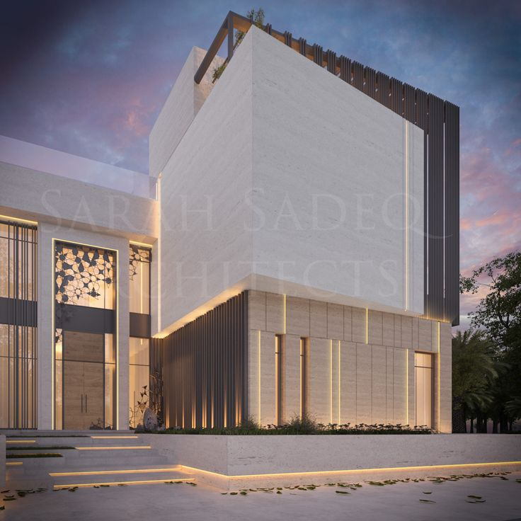 private villa by sarah sadeq architects sarah sadeq architectes pinterest villas. Black Bedroom Furniture Sets. Home Design Ideas